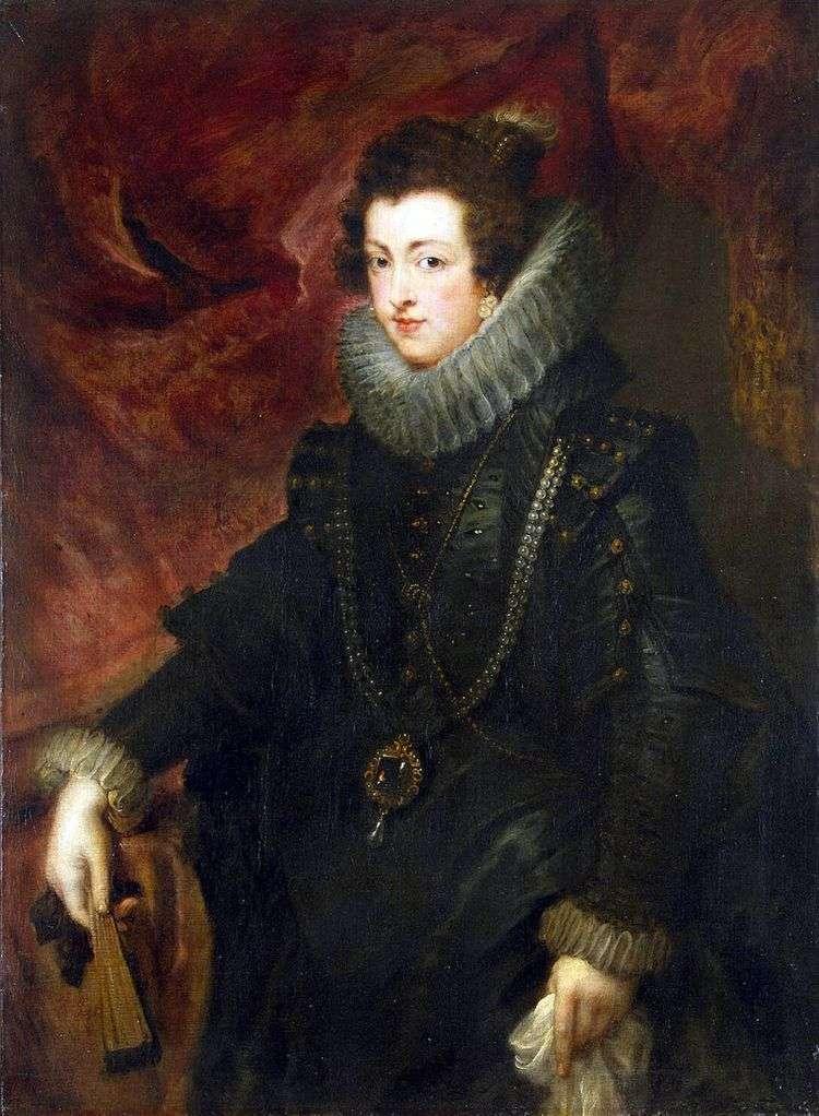 Портрет королевы Елизаве   Питер Рубенс