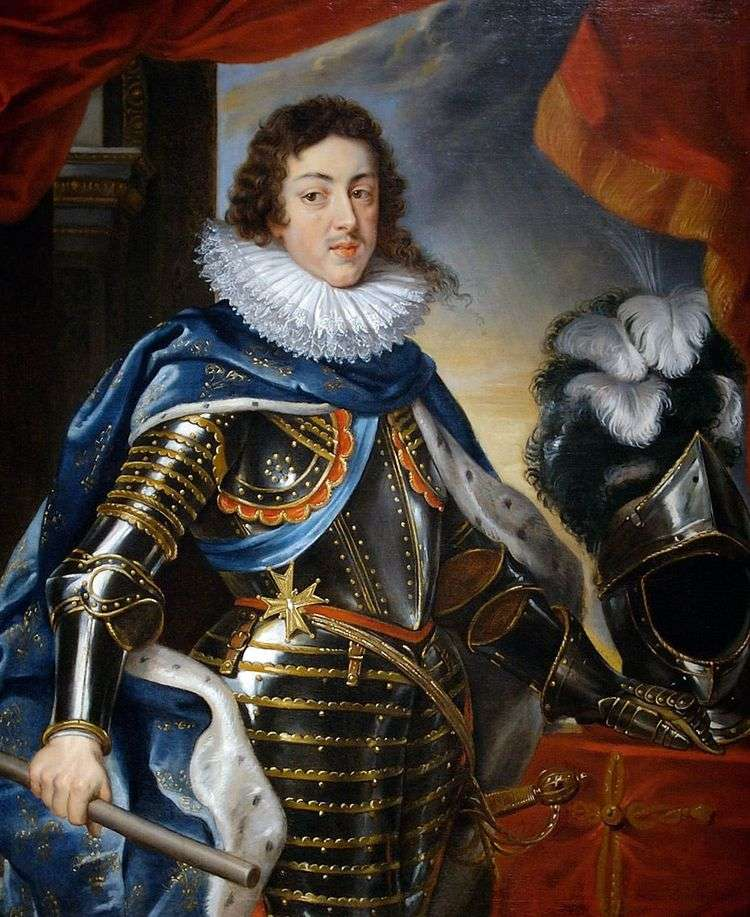 Портрет Людовика XIII, короля Франции   Питер Рубенс