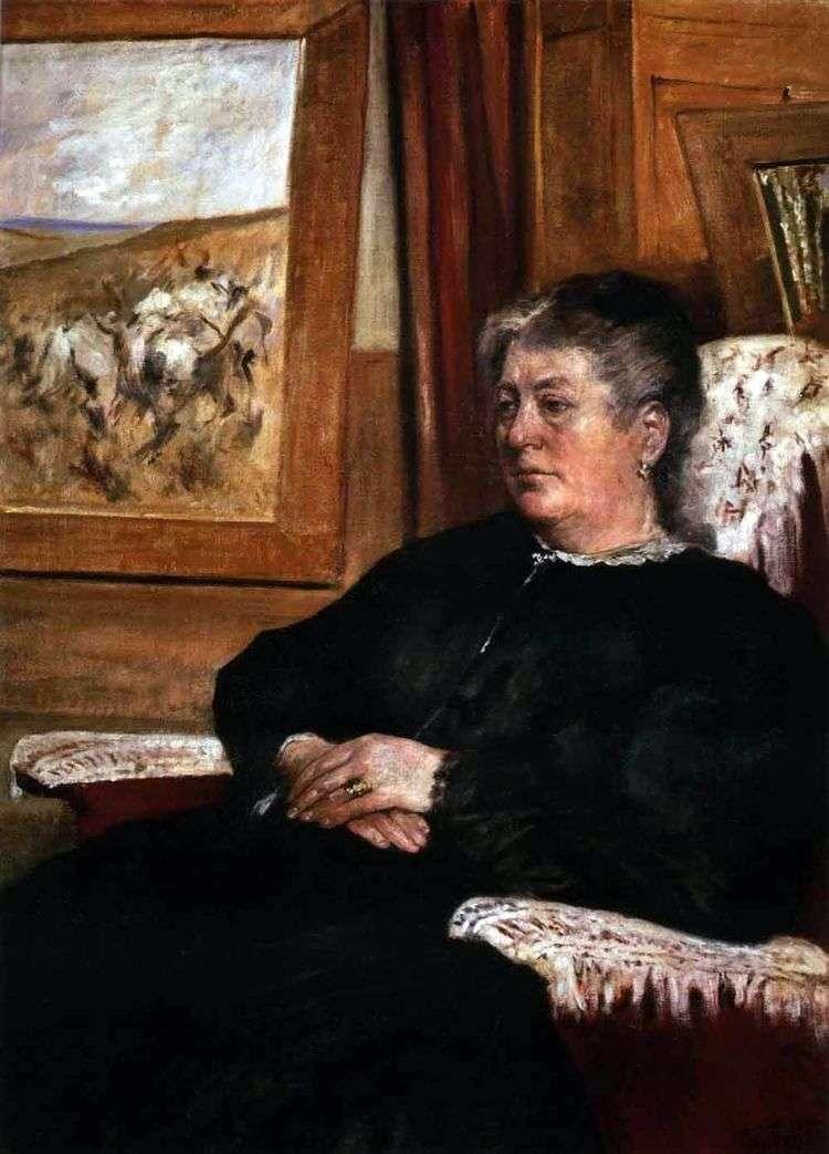 Портрет жены   Джованни Фаттори