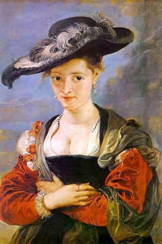 Портрет Сюзанны Фоурмент (Соломенная шляпка)   Питер Рубенс