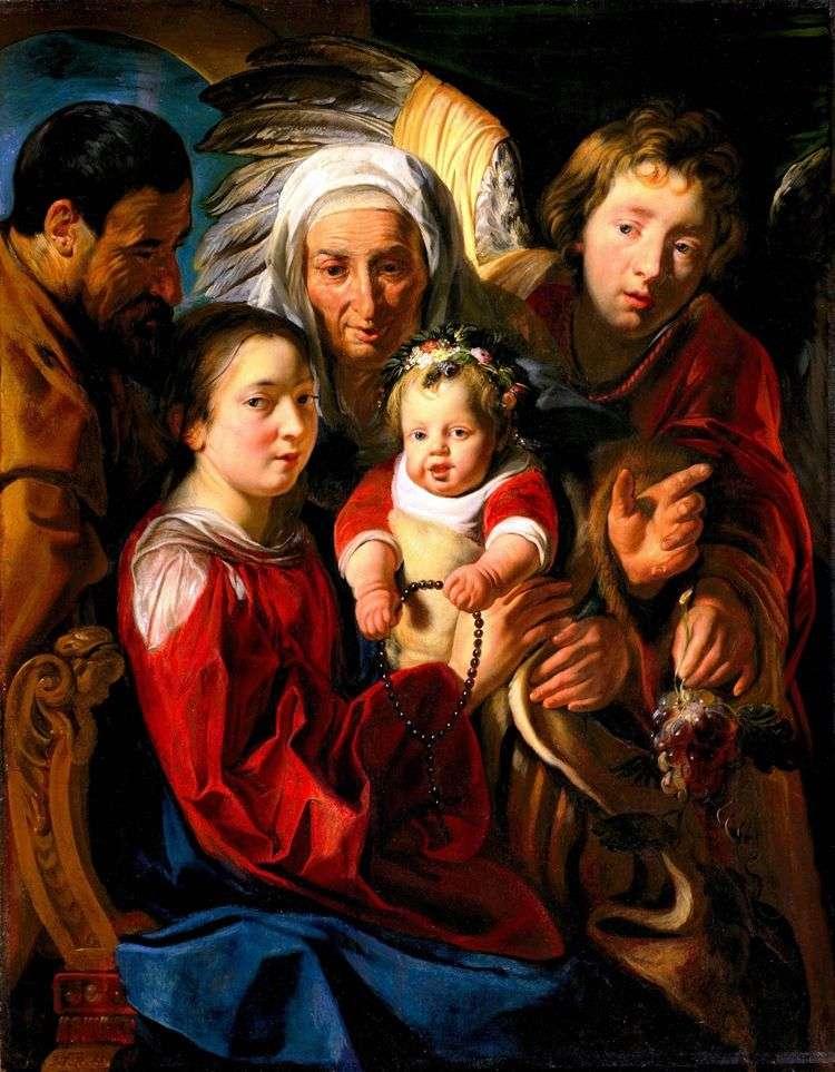 Святое семейство   Якоб Йорданс