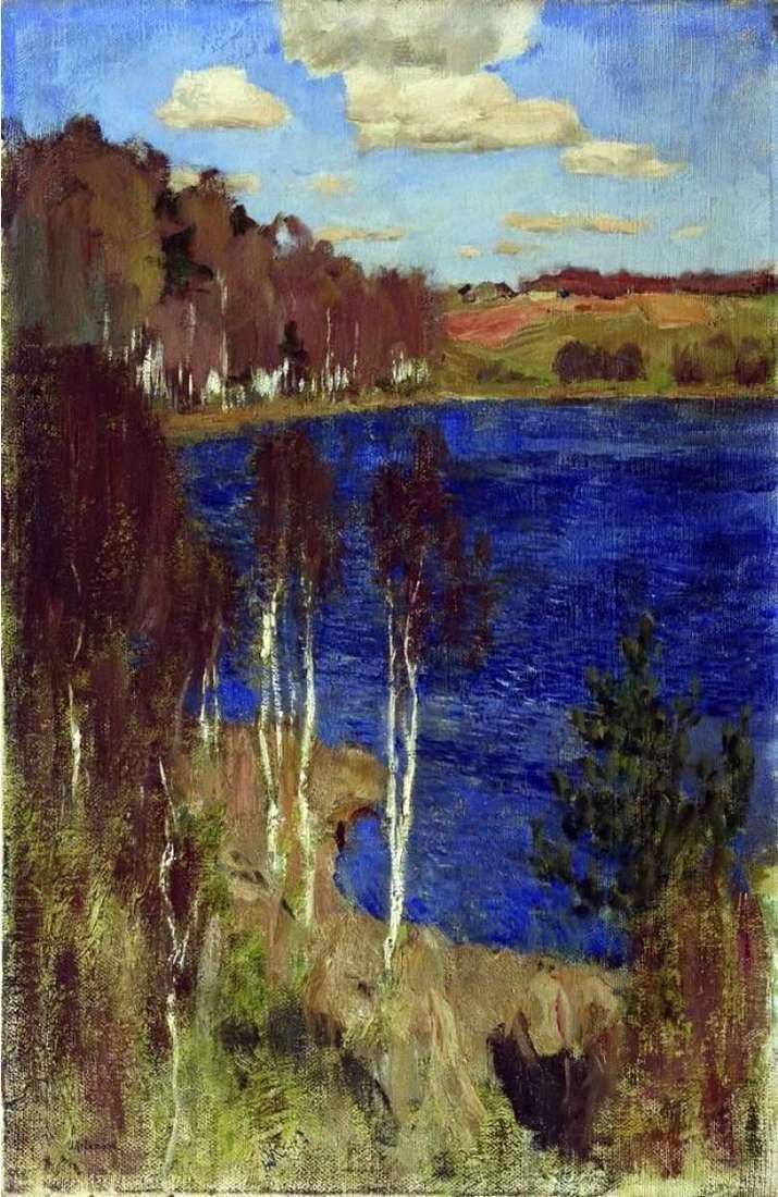 Озеро. Весна   Исаак Левитан