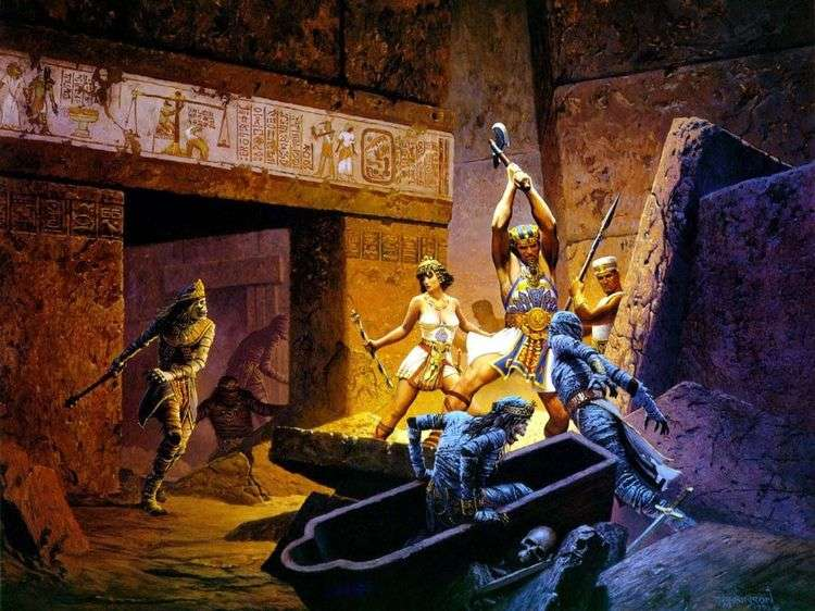 Стража фараонов   Кит Паркинсон