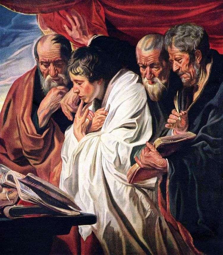 Четыре евангелиста   Якоб Йорданс