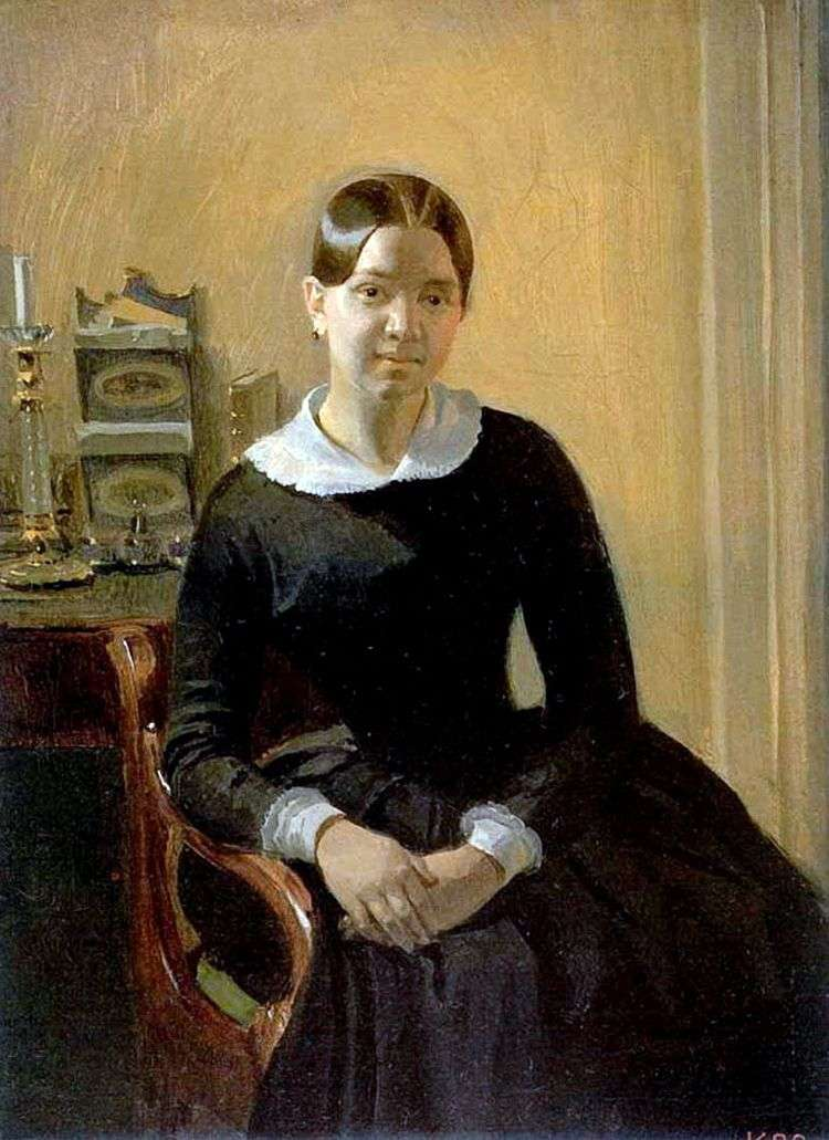 Портрет Анны Петровны Жданович   Федотов Павел Андреевич