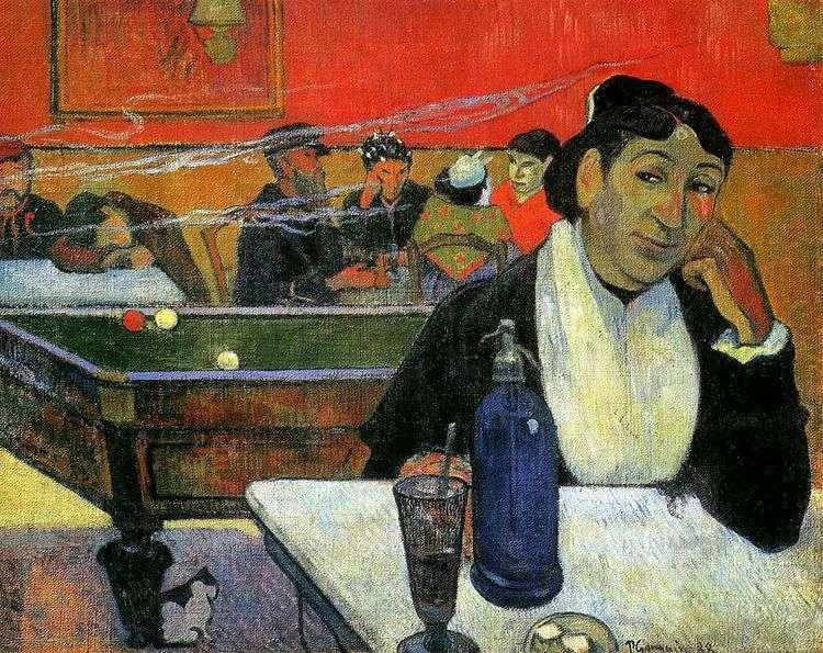 Ночное кафе, Арль (Ночное кафе в Арле)   Поль Гоген