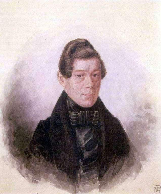 Портрет М. М. Родивановского   Павел Федотов