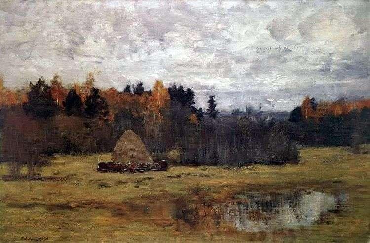 Поздняя осень   Исаак Левитан