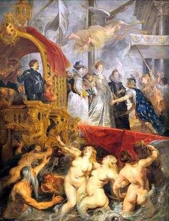 Прибытие Марии Медичи в Марсель   Питер Рубенс