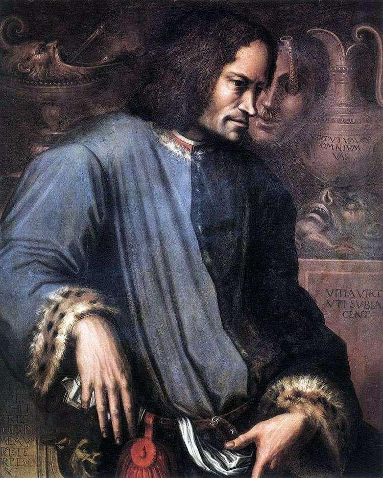 Портрет Лоренцо Великолепного   Джорджо Вазари