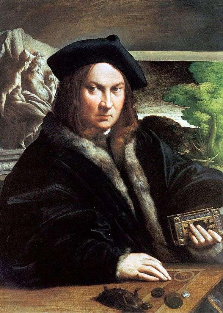 Портрет мужчины   Франческо Пармиджанино