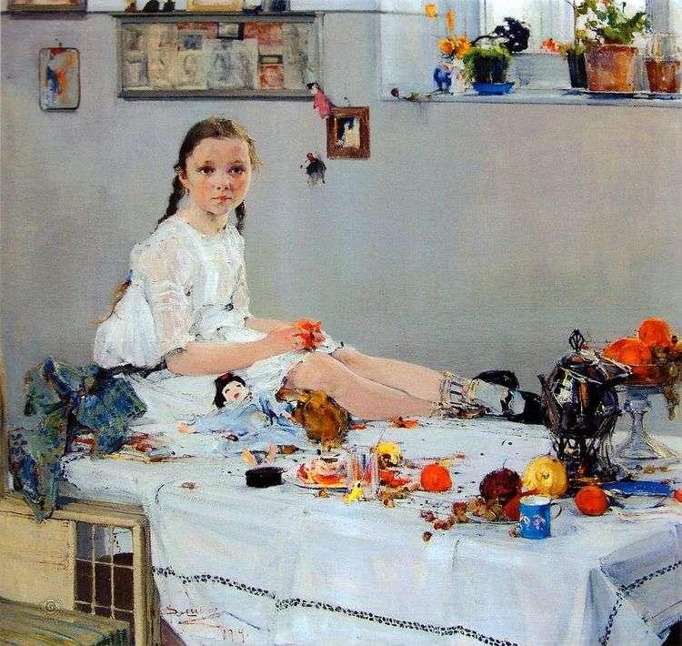 Портрет Вари Адоратской   Николай Фешин