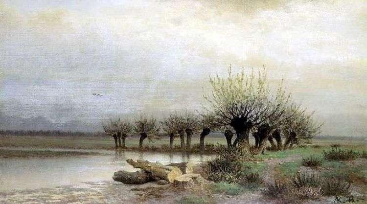 Весна   Лев Каменев