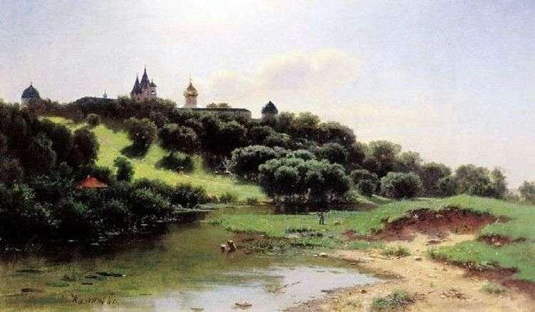 Саввино Сторожевский монастырь под Звенигородом   Лев Львович Каменев