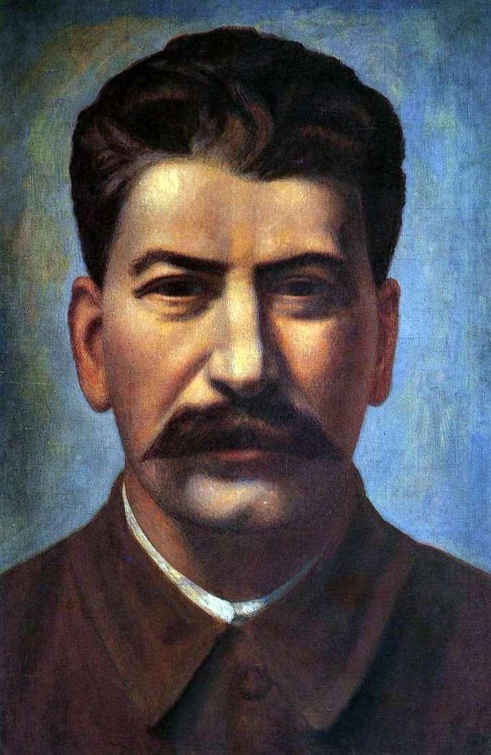 Портрет И. В. Сталина   Павел Филонов