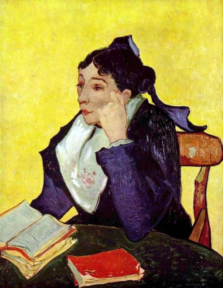 Арлезианка: Мадам Жину с книгами   Винсент Ван Гог
