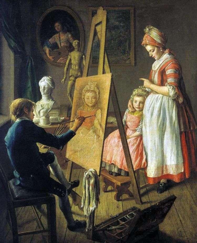 Юный живописец   Иван Фирсов