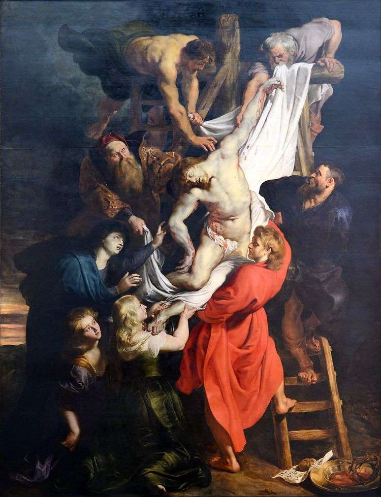 Снятие с креста   Питер Рубенс