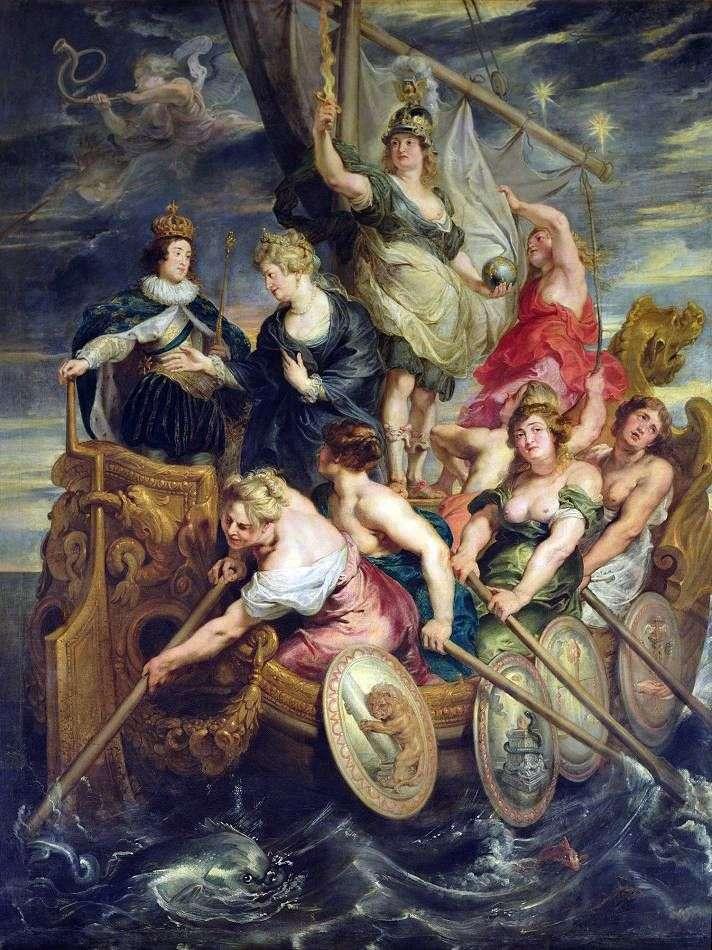 Совершенолетие Людовика XIII   Питер Рубенс