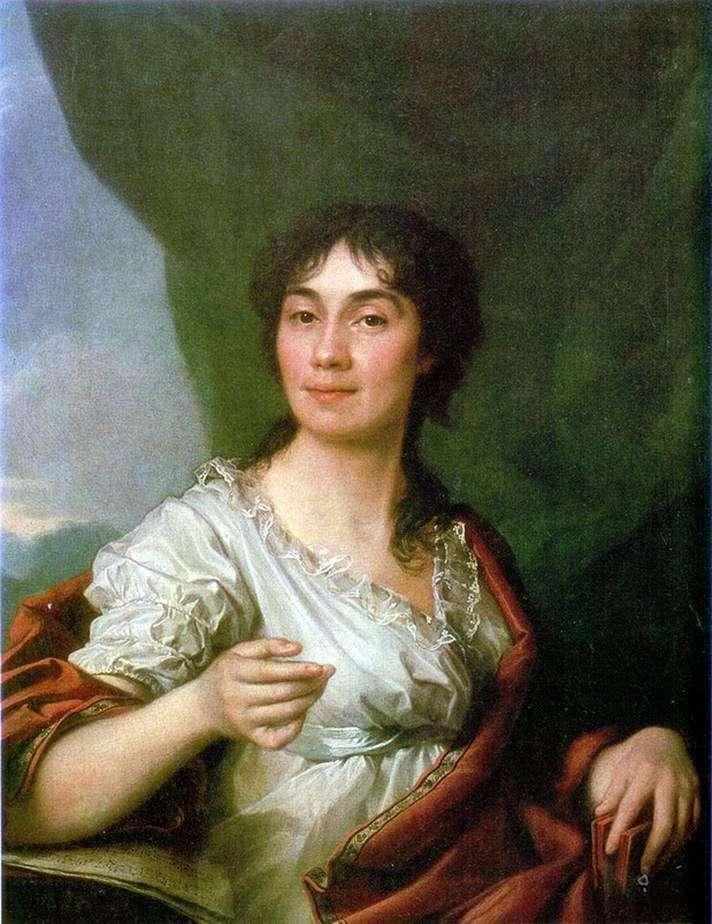 Портрет графини А. С. Протасовой   Дмитрий Левицкий