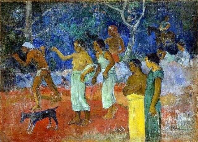 Сцены таитянской жизни   Поль Гоген
