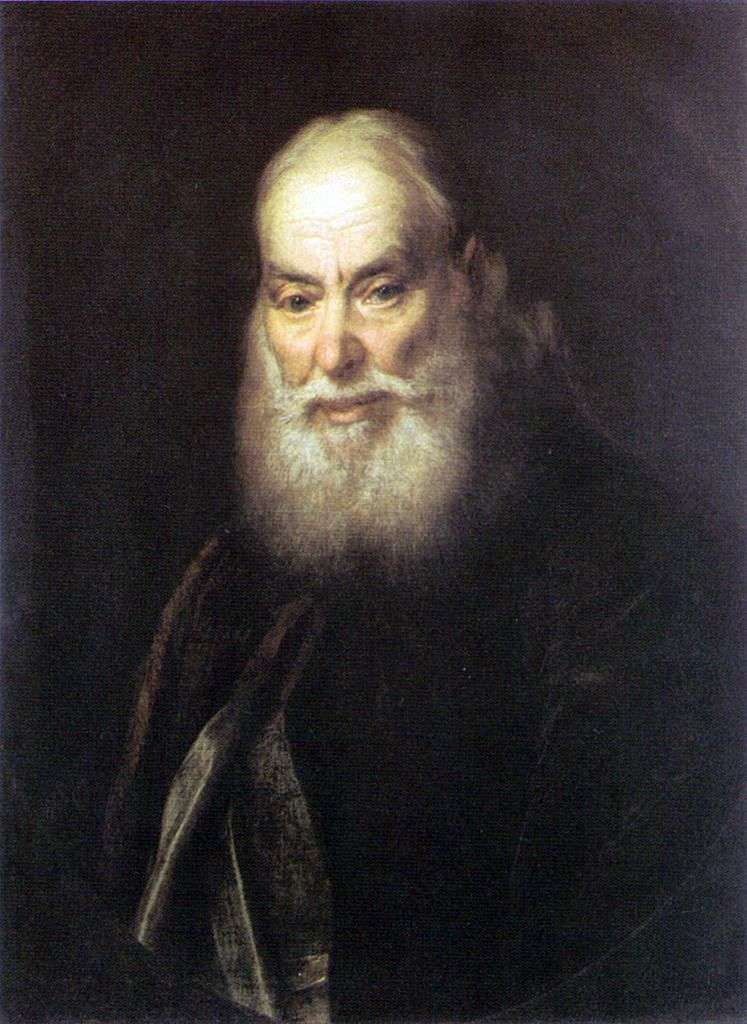 Портрет Левицкого Г. К (отец художника)   Дмитрий Левицкий