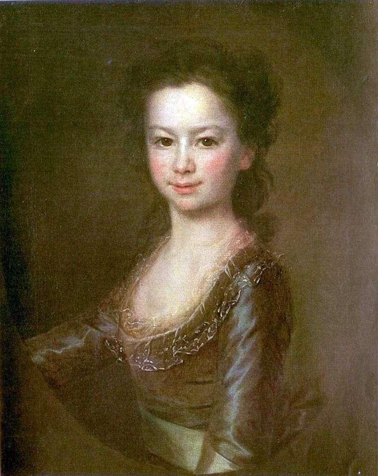 Портрет Марии Воронцовой   Дмитрий Левицкий