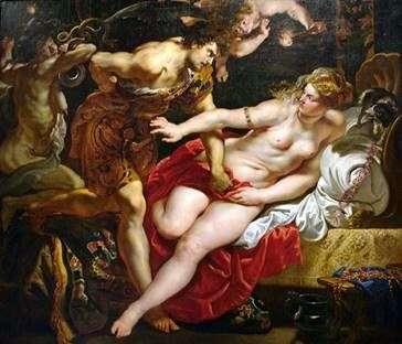 Тарквиний и Лукреция   Питер Рубенс