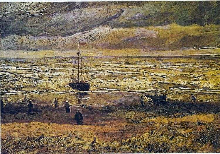 Вид на море в Схевенингене   Винсент Ван Гог