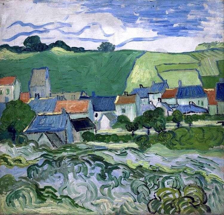 Вид на Овер   Винсент Ван Гог