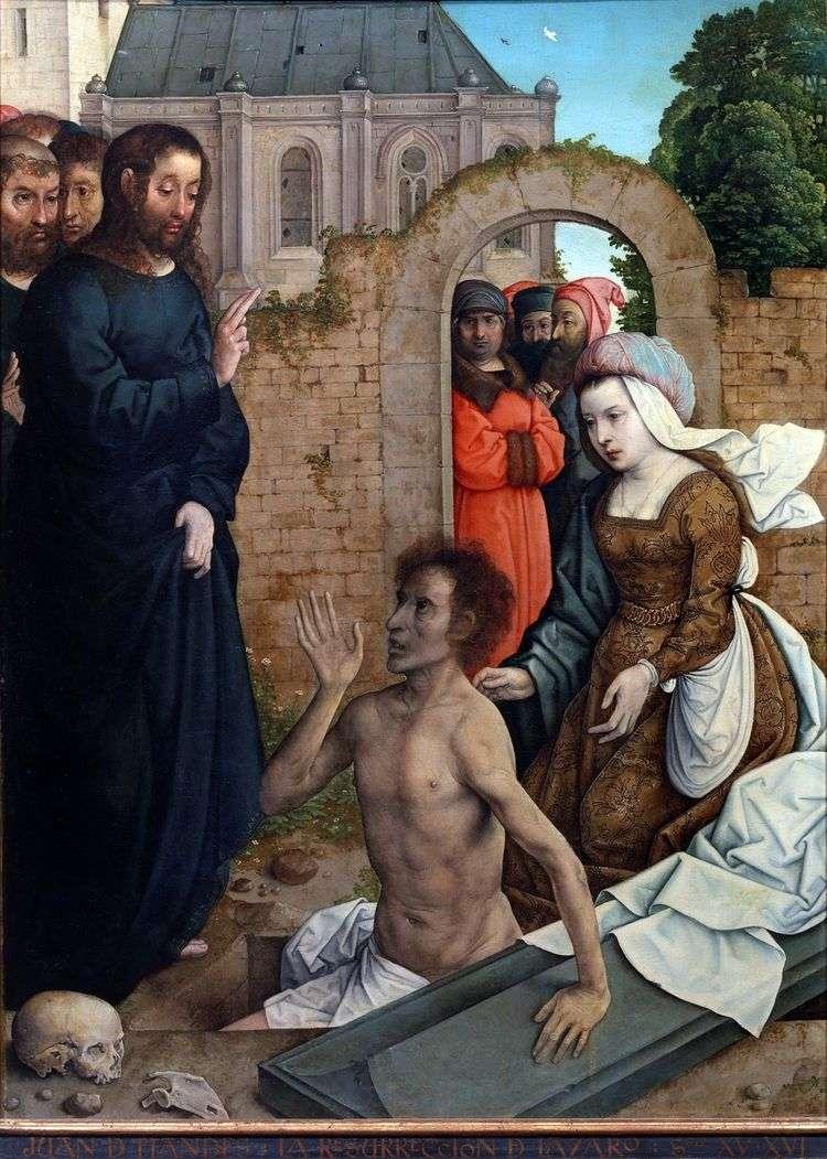 Воскрешение Лазаря   Хуан де Фландес