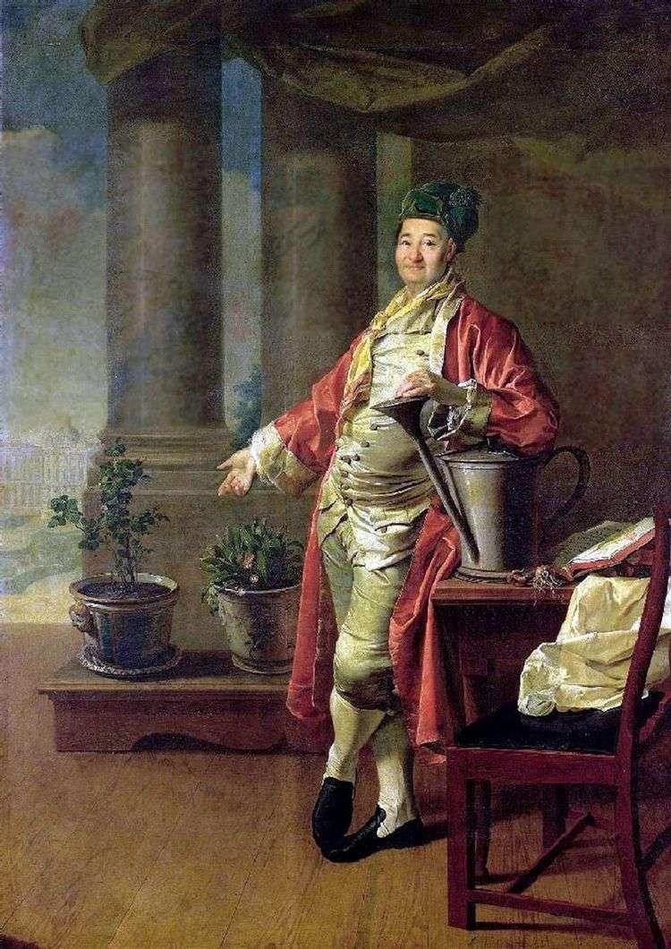 Портрет П. А. Демидова   Дмитрий Левицкий