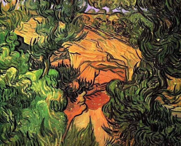 Вход в каменоломню   Винсент Ван Гог