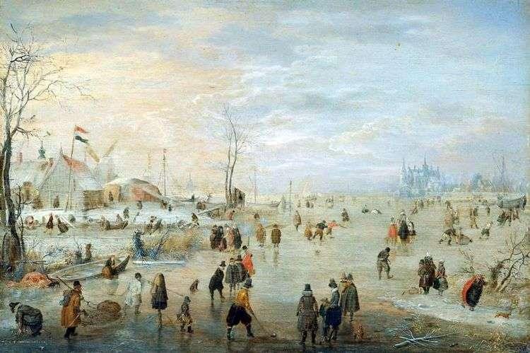 Ледяной край   Хендрик Аверкамп