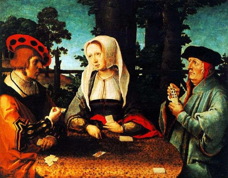 Игра в карты   Лукас ван Лейден