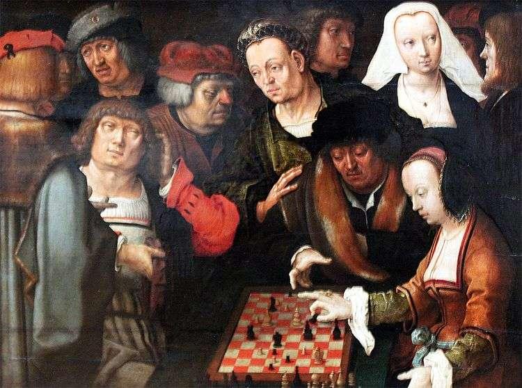 Игра в шахматы   Лукас ван Лейден