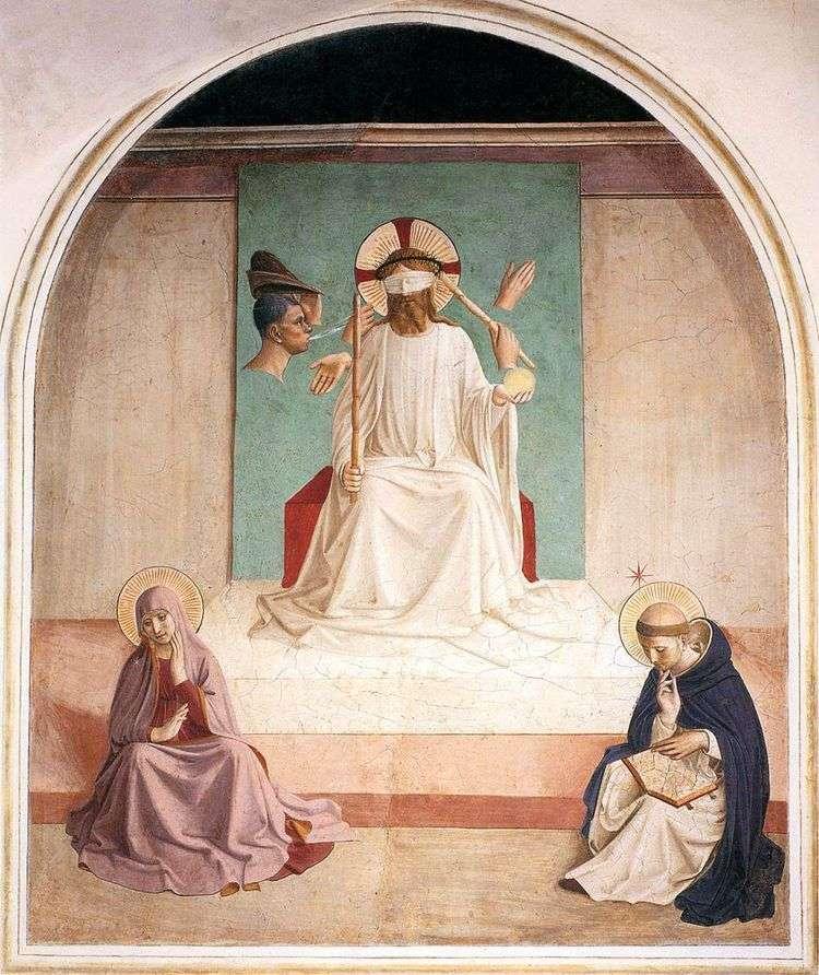 Осмеяние Христа   Анджелико Фра