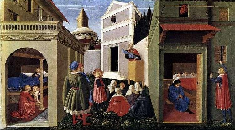 Перуджийский триптих   Анджелико Фра