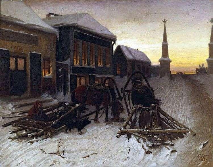 Последний кабак у заставы   Василий Перов