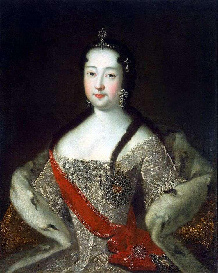 Портрет царевны Анны Петровны   Адольский Иван Николаевич