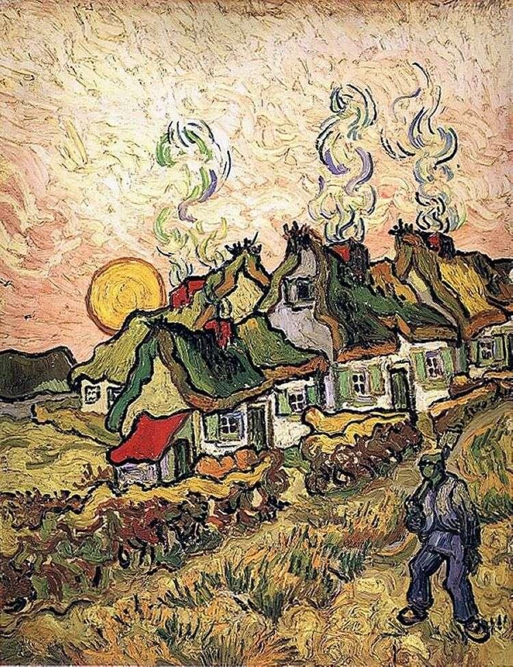Дома: Воспоминание о Севере   Винсент Ван Гог