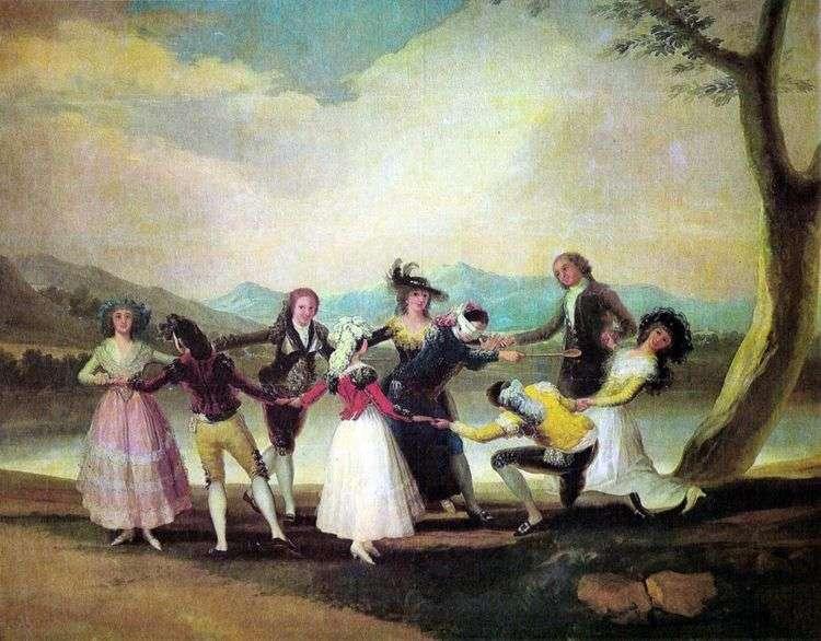Игра в жмурки   Франсиско де Гойя