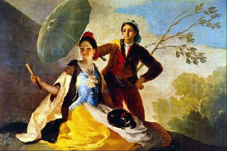Зонтик   Франсиско де Гойя