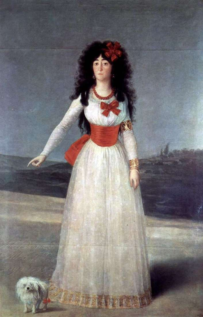 Каэтана Альба   Франсиско де Гойя
