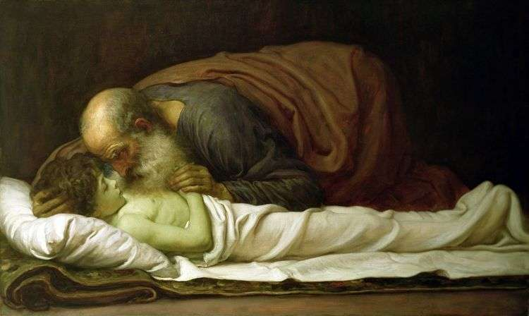 Елисей, воскрешающий сына суннамитянина   Фредерик Лейтон