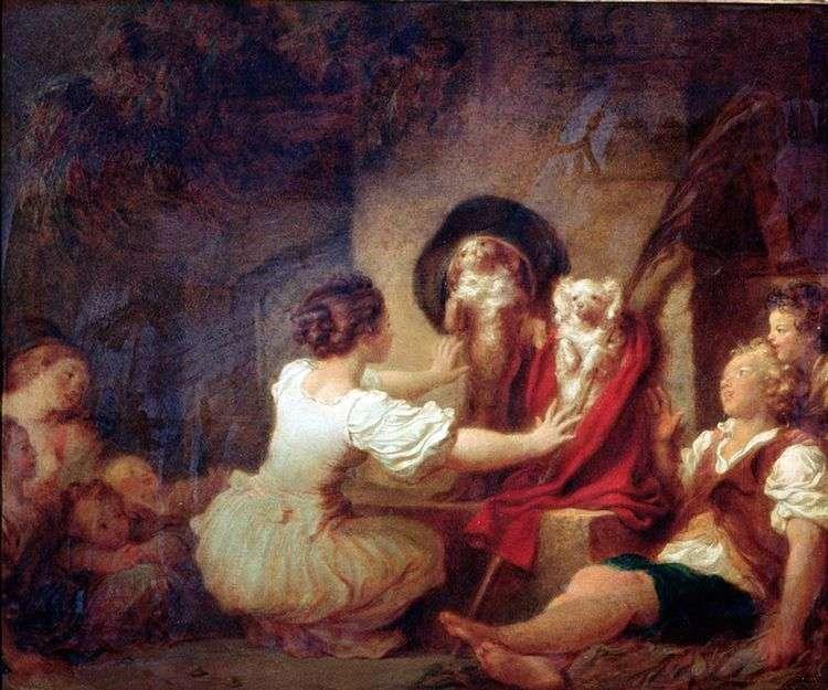Воспитание делает все   Жан Оноре Фрагонар