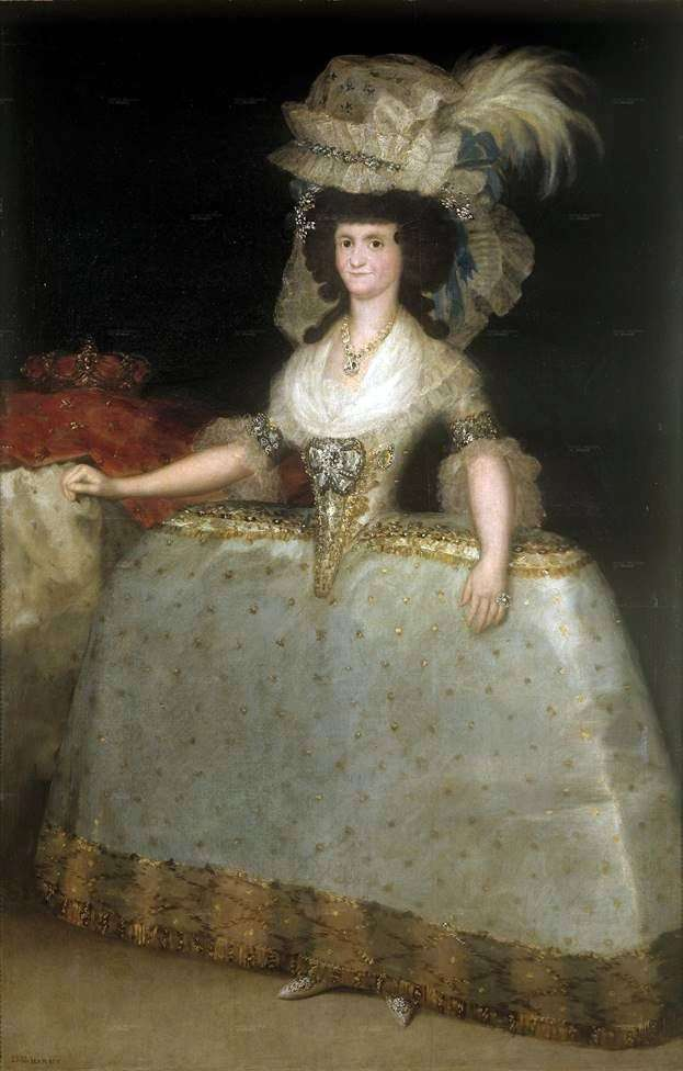 Мария Луиза   Франсиско де Гойя