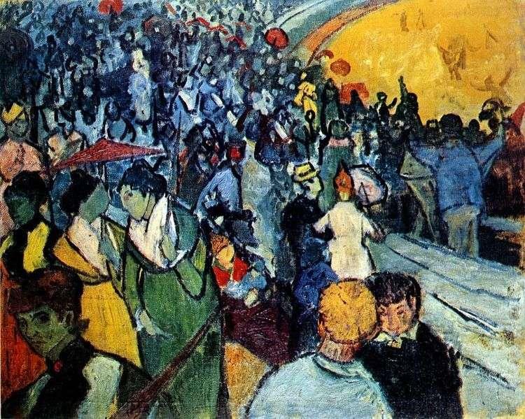 Зрители на арене в Арле   Винсент Ван Гог