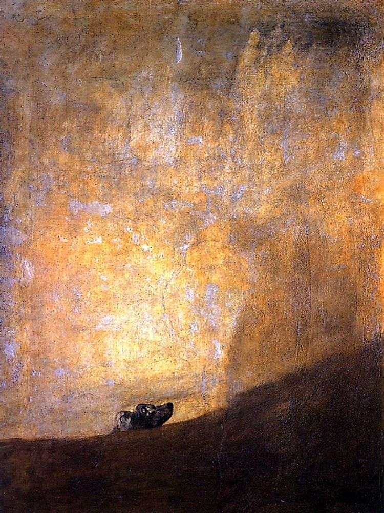 Пес   Франсиско де Гойя