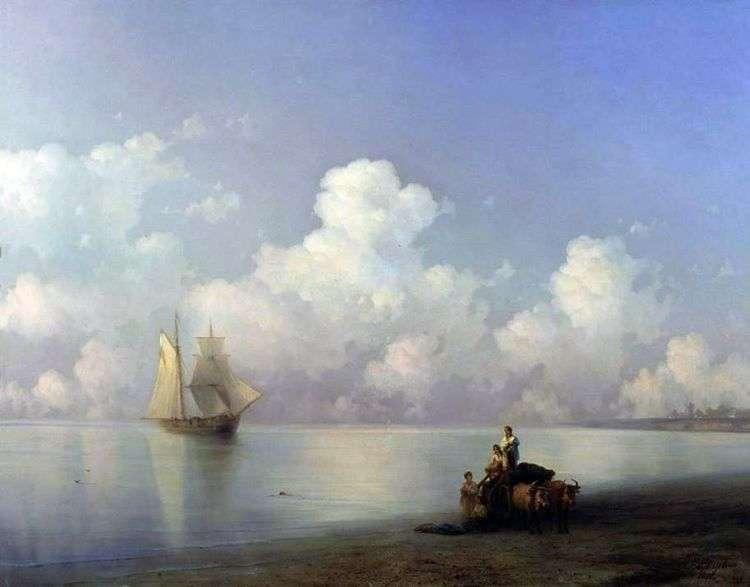 Вечер на море   Иван Айвазовский